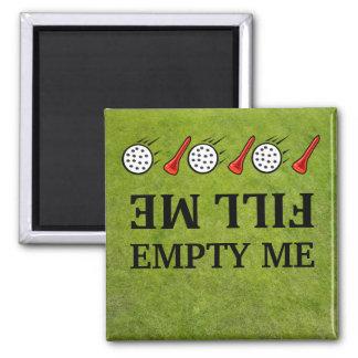 Lléneme mí-vacío los imanes del lavaplatos del gol iman