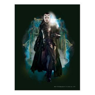 Lleno-Cuerpo de Elrond Tarjeta Postal