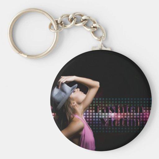 Lleva clave Fashion victim Llavero Redondo Tipo Pin