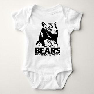 lleva la camiseta divertida de la matanza del mameluco de bebé