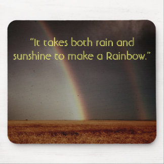 Lleva la lluvia y la sol… tapetes de raton
