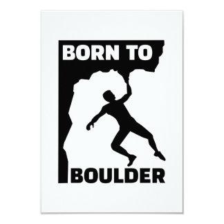 """Llevado a Boulder Invitación 3.5"""" X 5"""""""