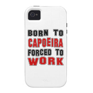 Llevado a Capoeira forzó para trabajar iPhone 4 Carcasa
