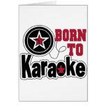 Llevado a la estrella del Karaoke Felicitaciones