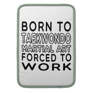 Llevado al arte marcial del Taekwondo forzado para Funda MacBook