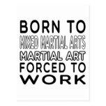 Llevado al arte marcial mezclado de los artes postal