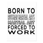 Llevado al arte marcial ruso de los artes postal