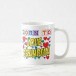 Llevado amar a la abuela tazas de café