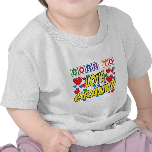 Llevado amar a la abuelita camiseta