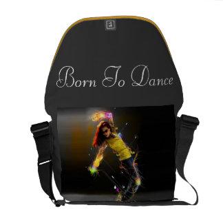 """Llevado bailar"" el bolso elegante Bolsa Messenger"