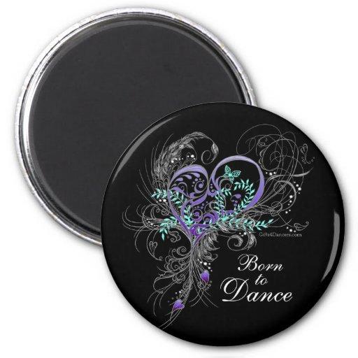 Llevado bailar el imán (negro)