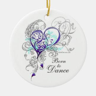 Llevado bailar el ornamento 2-Sided Ornamento Para Reyes Magos