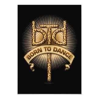 Llevado bailar la invitación del fiesta (del