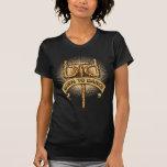 Llevado bailar (leopardo) camiseta