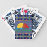 Llevado chillar barajas de cartas