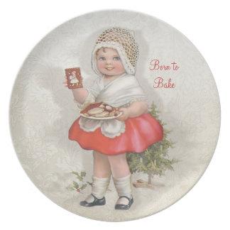 Llevado cocer al chica plato