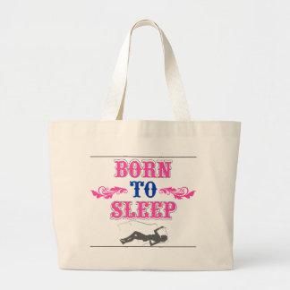 Llevado dormir bolsa tela grande