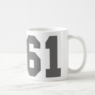 Llevado en 1961 tazas de café