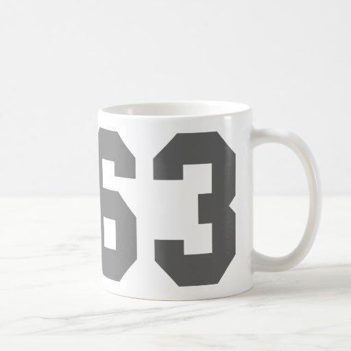 Llevado en 1963 taza de café
