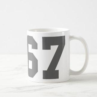 Llevado en 1967 taza de café
