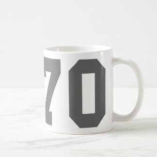 Llevado en 1970 taza clásica