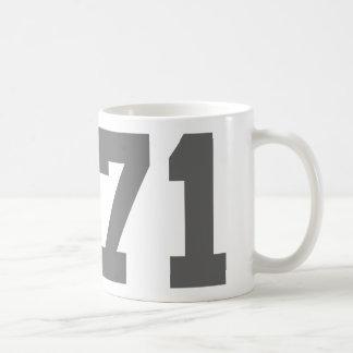 Llevado en 1971 taza