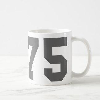 Llevado en 1975 tazas de café