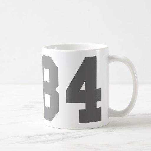 Llevado en 1984 taza de café