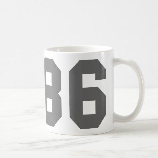 Llevado en 1986 taza de café
