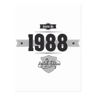Llevado en 1988 Dark Lightgrey