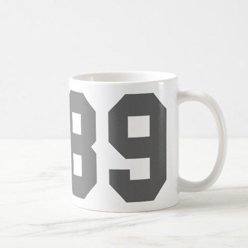 Llevado en 1989 taza de café