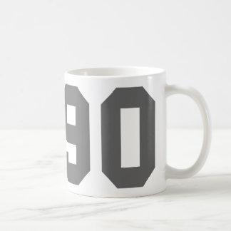Llevado en 1990 taza clásica