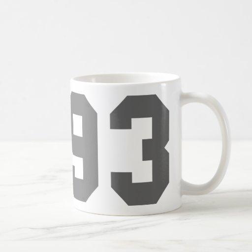 Llevado en 1993 taza de café