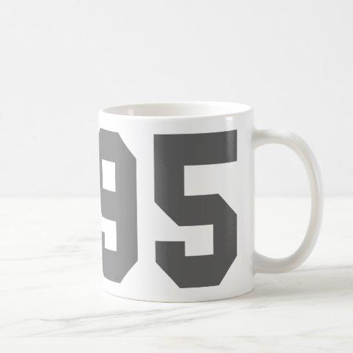 Llevado en 1995 taza de café