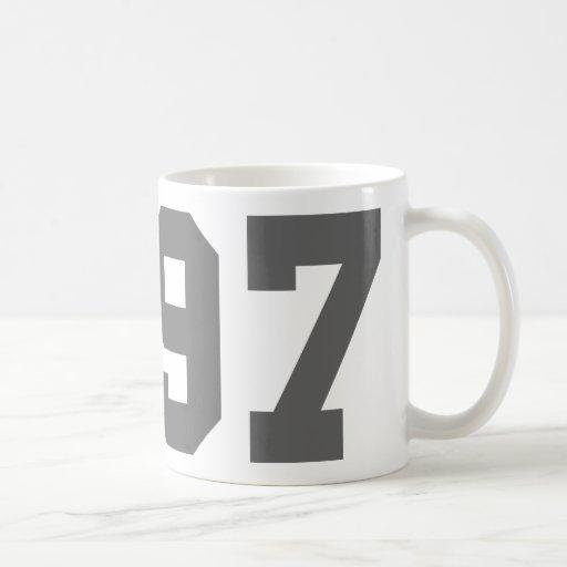 Llevado en 1997 taza de café