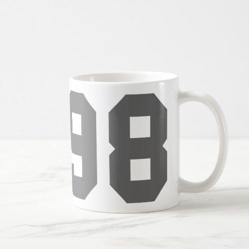 Llevado en 1998 tazas de café