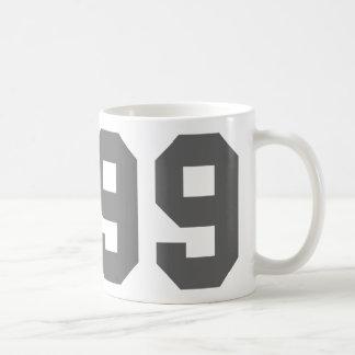Llevado en 1999 taza básica blanca