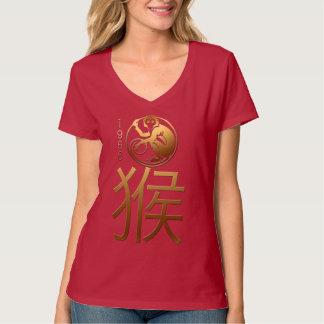 Llevado en el año 1956 del mono - astrología china camisas