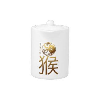 Llevado en el año 1956 del mono - astrología china