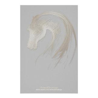 Llevado en el año del caballo - efectos de papelería de diseño