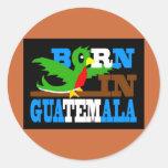 Llevado en Guatemala 2 Etiquetas Redondas