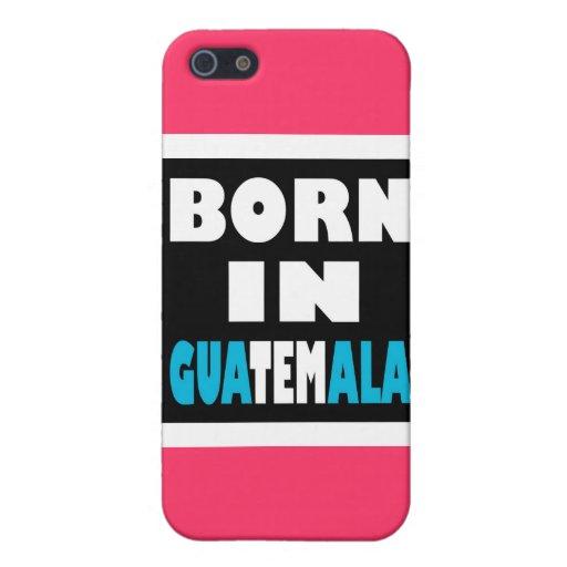 Llevado en Guatemala iPhone 5 Carcasa