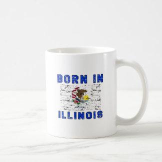 Llevado en Illinois Taza