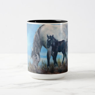 """""""Llevado en la taza de café del caballo salvaje"""