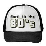 Llevado en los años 80 gorras de camionero