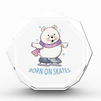 Llevado en patines