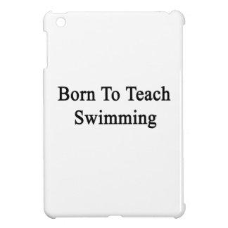 Llevado enseñar a la natación