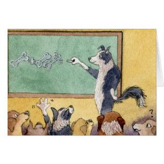 Llevado enseñar - gracias, TARJETA de profesor