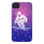 Llevado esquiar caso del iPhone 4 iPhone 4 Case-Mate Cobertura