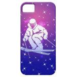 Llevado esquiar caso del iPhone 5 iPhone 5 Case-Mate Fundas